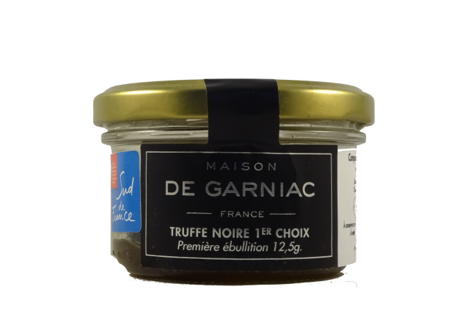 Black Truffles in a jar