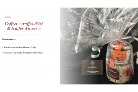 "Summer Truffles & risotto with winter truffles"" Gift Box"