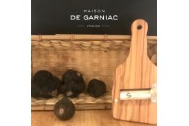 Kit du Chef - Truffes noires fraîches et mandoline en bois d'olivier