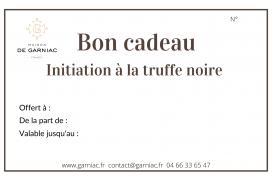 Gift voucher - Initiation to truffles