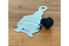 Stainless steel truffle slicer