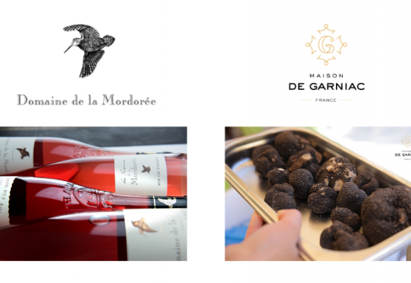 Our partnership with Domaine de la Mordorée