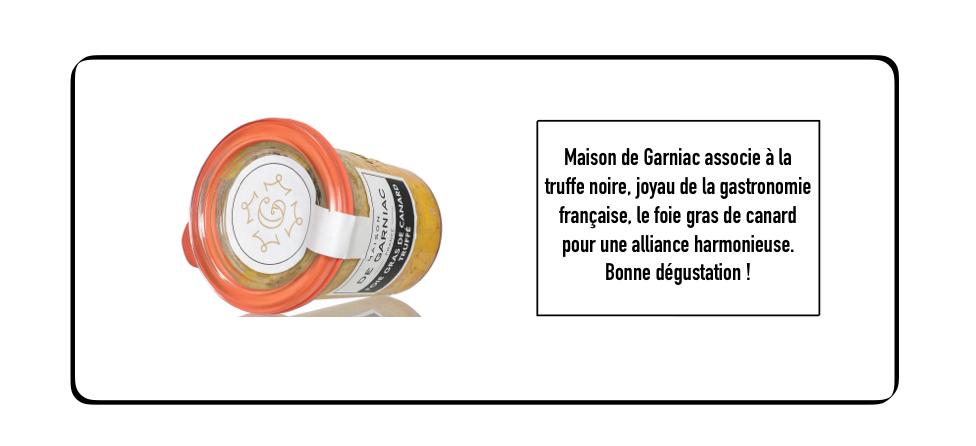 Foie gras de canard truffé
