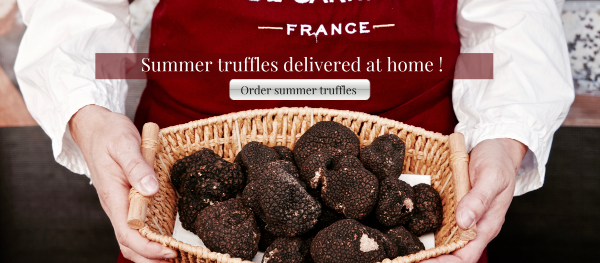 Summer truffles delivered at home !